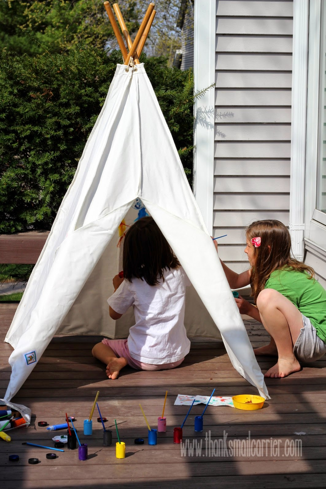 Pacific Play Tents Painting Teepee