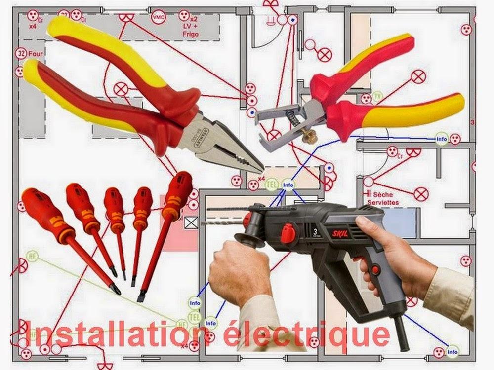 Schema electrique for Installation electrique maison pour les nuls