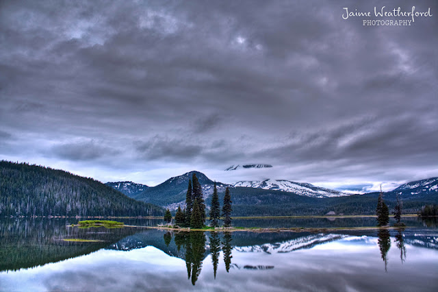 Jaime Weatherford Bend Oregon Sunrise Sparks Lake