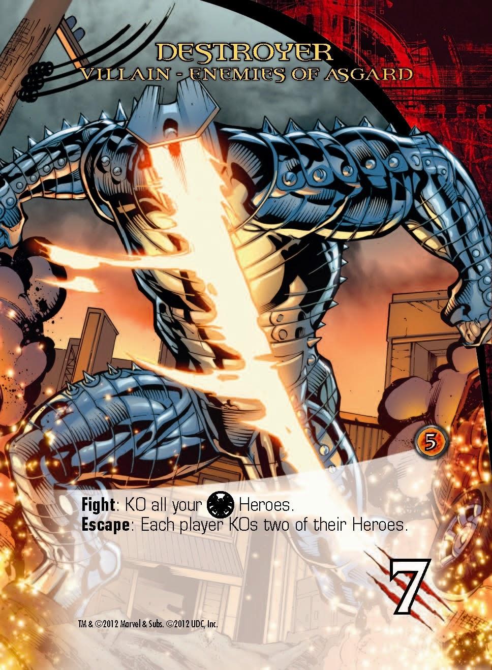 Destroyer en Legendary Marvel