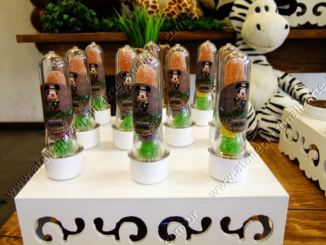 decoracao festa infantil mickey rustico