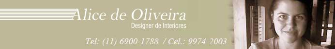 Alice de Oliveira - Designer de Interiores