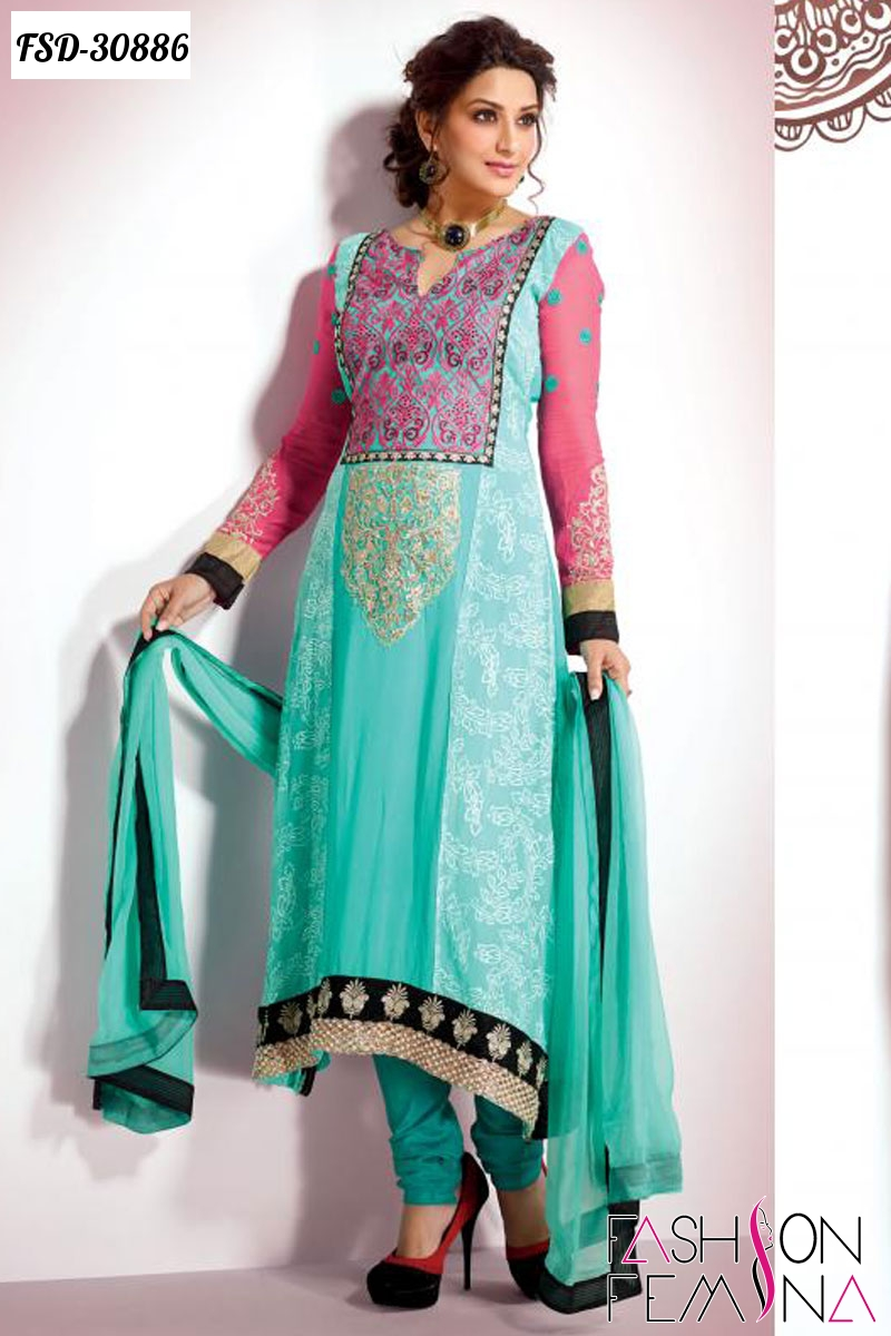 Fashion Femina Salwar Kameez : Designer Anarkali Salwar Suits ...