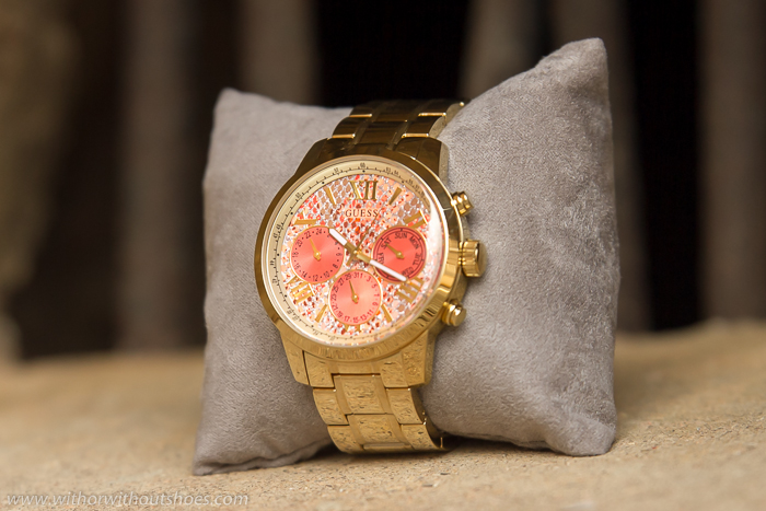 Nueva coleccion de Guess Watches tendencias animal print