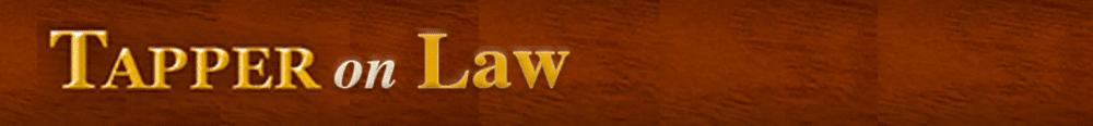 Tapper On Law