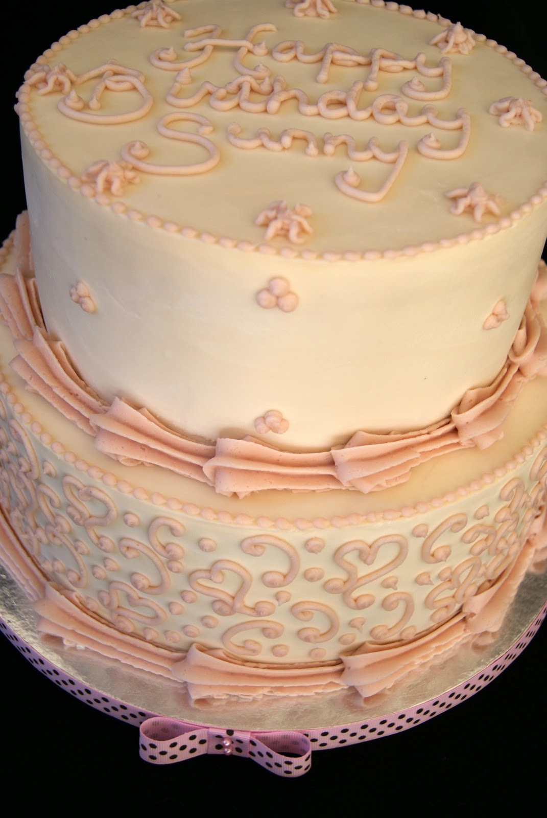 Birthday Cake Images With Name Sunny : Hearts cake for Sunny s 4th birthday Be Nourished Now ...