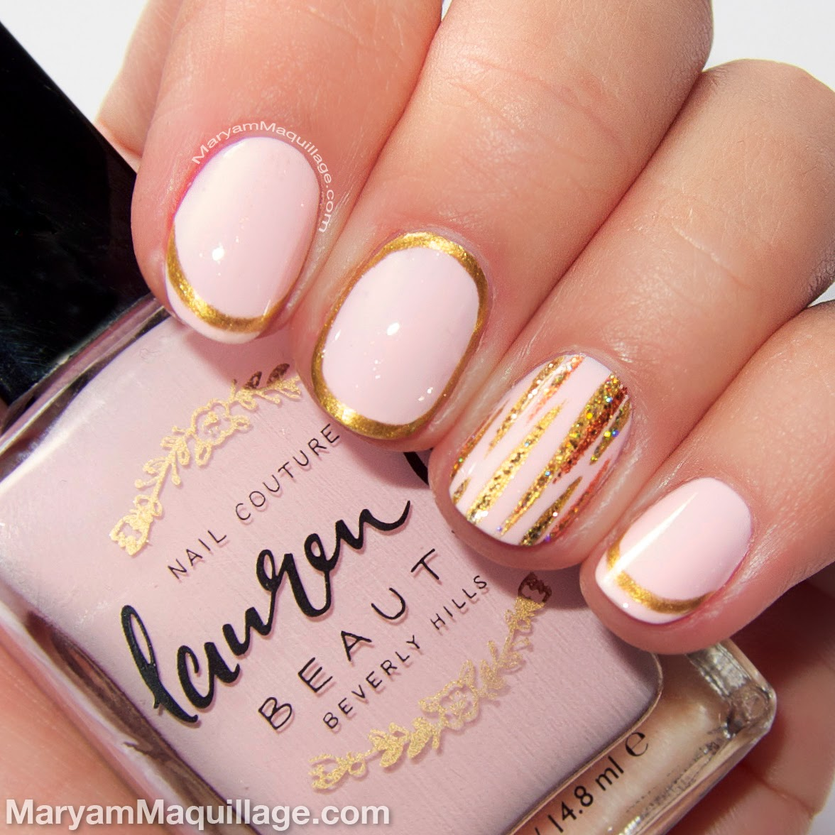 maryam maquillage spring beauty trend pastel nailart
