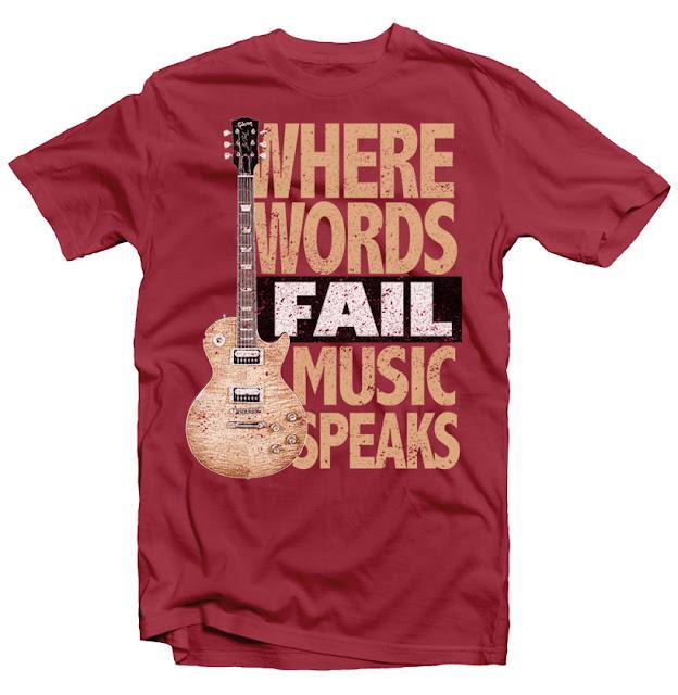 music tshirt design