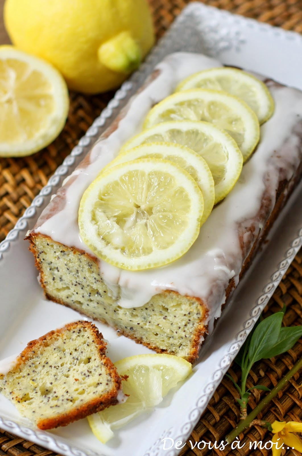 Gateau au yaourt citron vert