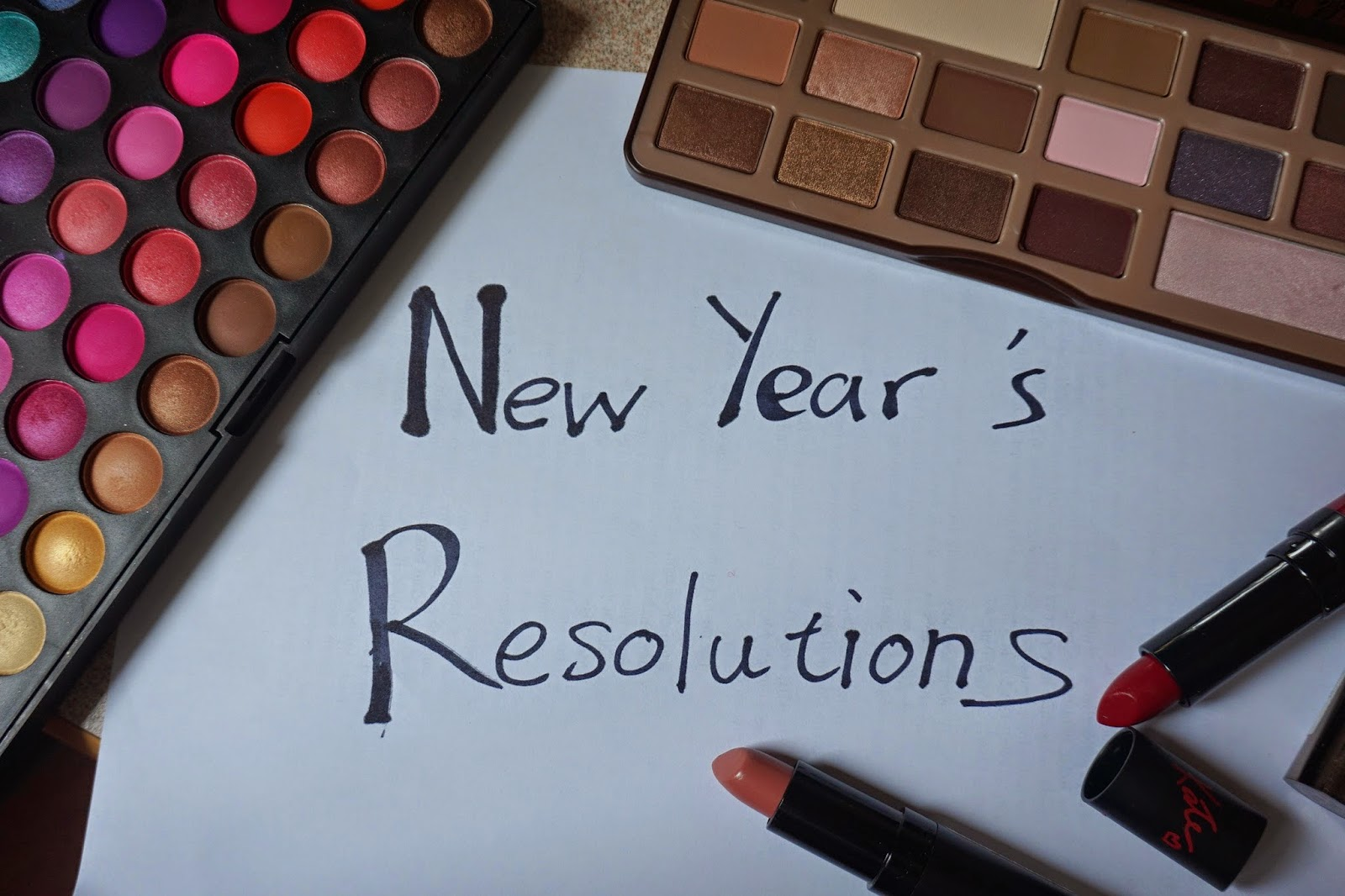 New Year Resolutions - Dusty Foxes Beauty Blog