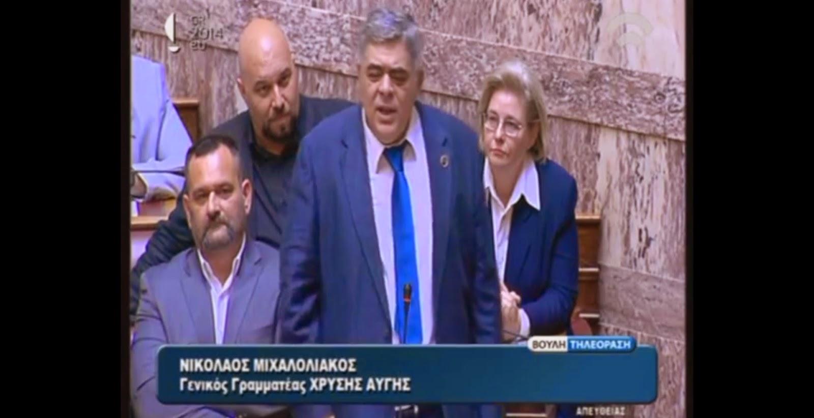 Νικόλαος Μιχαλολιάκος: Είμαι αμετανόητος Εθνικιστής - Δεν μπορείτε να μας λυγίσετε!