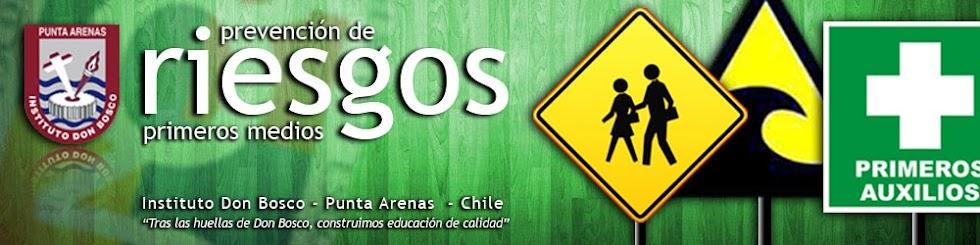 Prevención de Riesgos - Primero Medio - Instituto Don Bosco