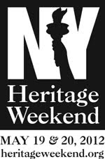 New York Heritage Weekend, May 19 and 20th