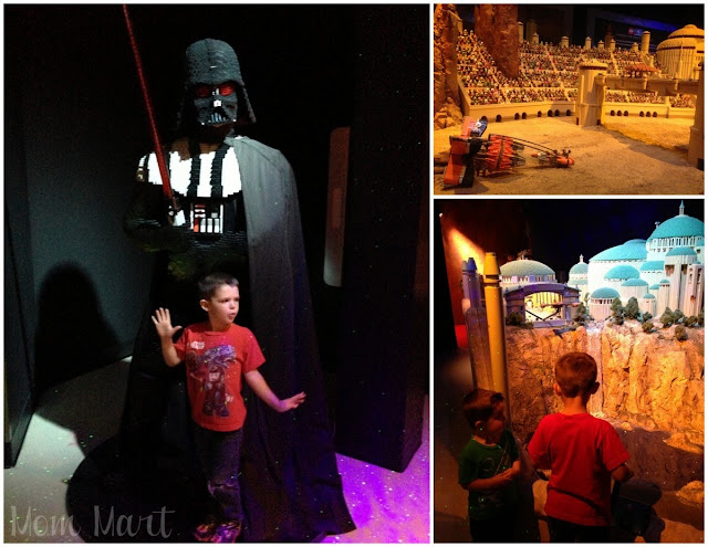 LEGOLAND Discovery Center in Schaumberg IL Star Wars Exhibit
