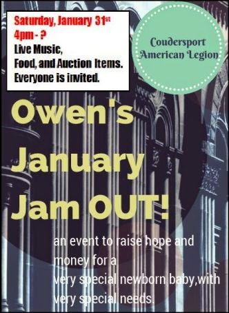 1-31 January Jam Out, Coudersport Legion
