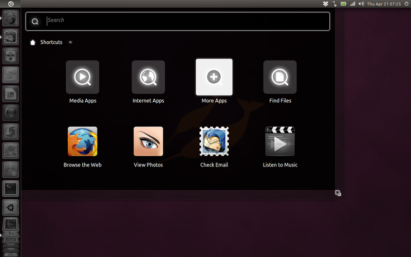 Tampilan sekilas Ubuntu 11.04 Natty Narwhal