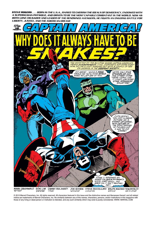 Captain America (1968) Issue #382 #315 - English 2