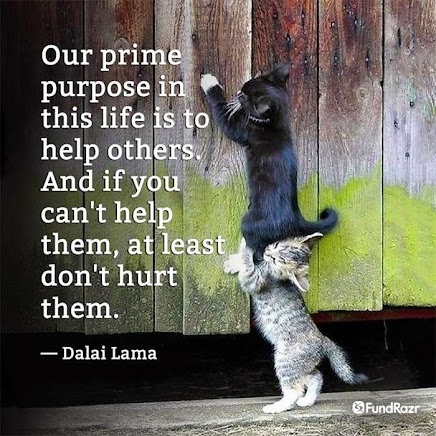 Helping Others is what Life is All About.
