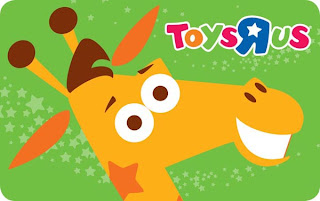 $200 Toys R Us Gift Card Giveaway, ends May 26th