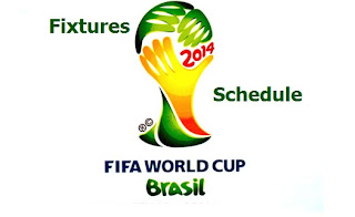 2014 FIFA World Cup Fixtures In Brazil 2014