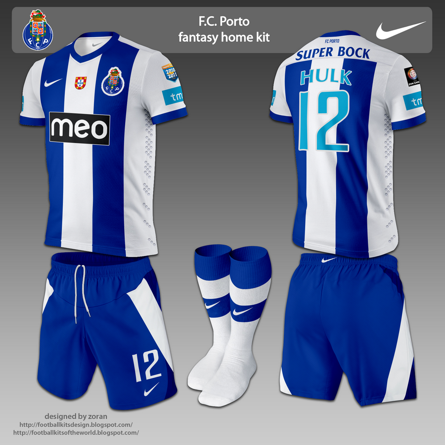 Fc Porto: Football Kits Design: FC Porto Fantasy Kits