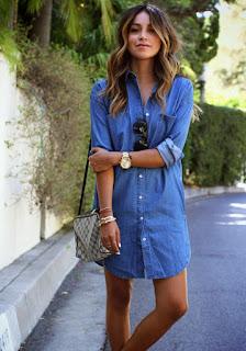 tendencias vestido denim 2016