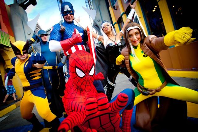 Parque Islands Of Adventure Heróis Marvel
