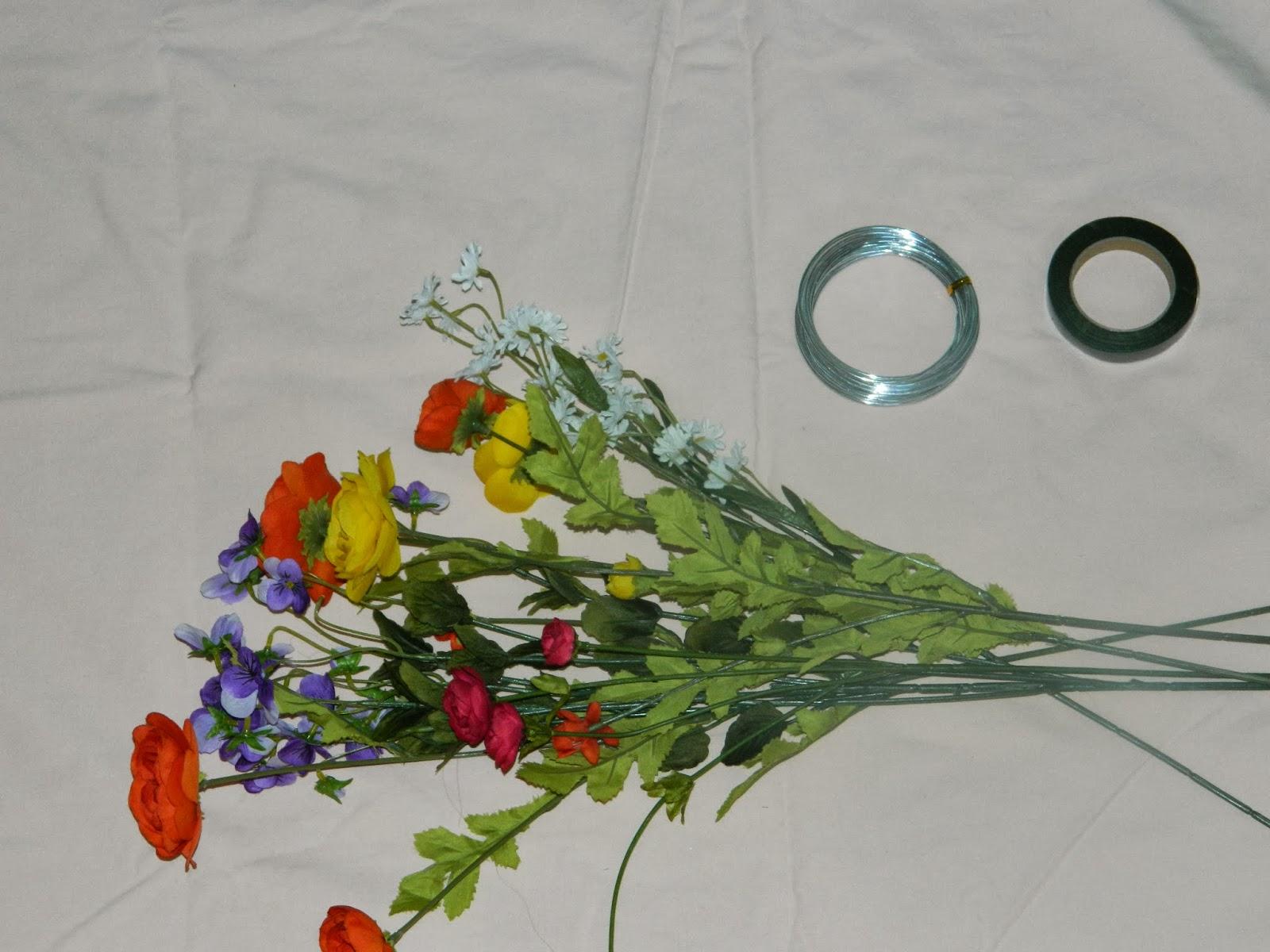 Suddenly Thrilled: DIY Floral Crown
