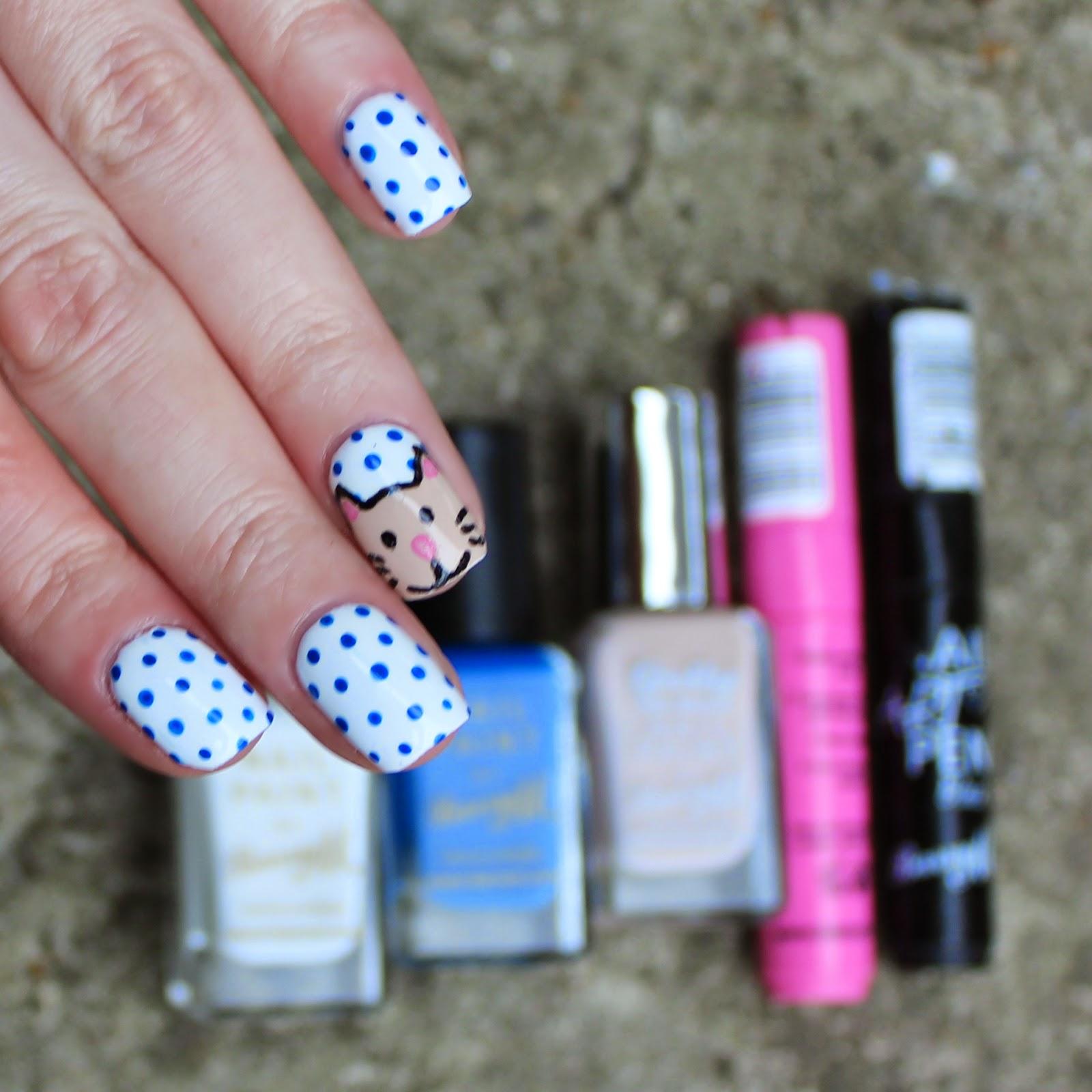 Dahlia Nails: Polka Cat
