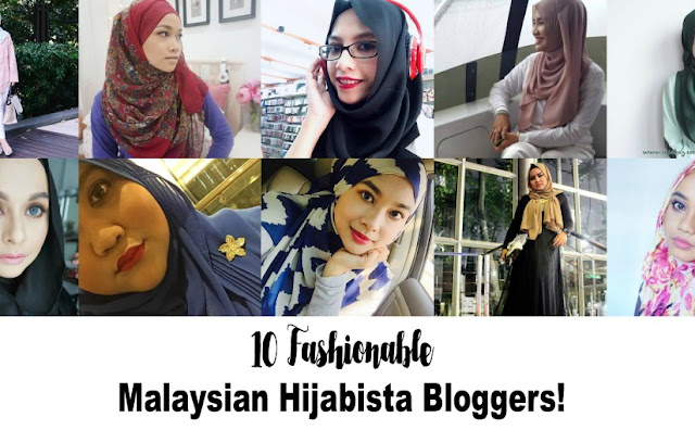 10 Blogger Hijabista di Malaysia