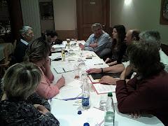 Le Comité de Campagne de 11 personnes se réunit très régulièrement