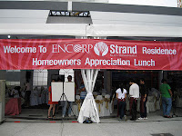 Homeowners appreciation lunch of ENCORP Strand Residence
