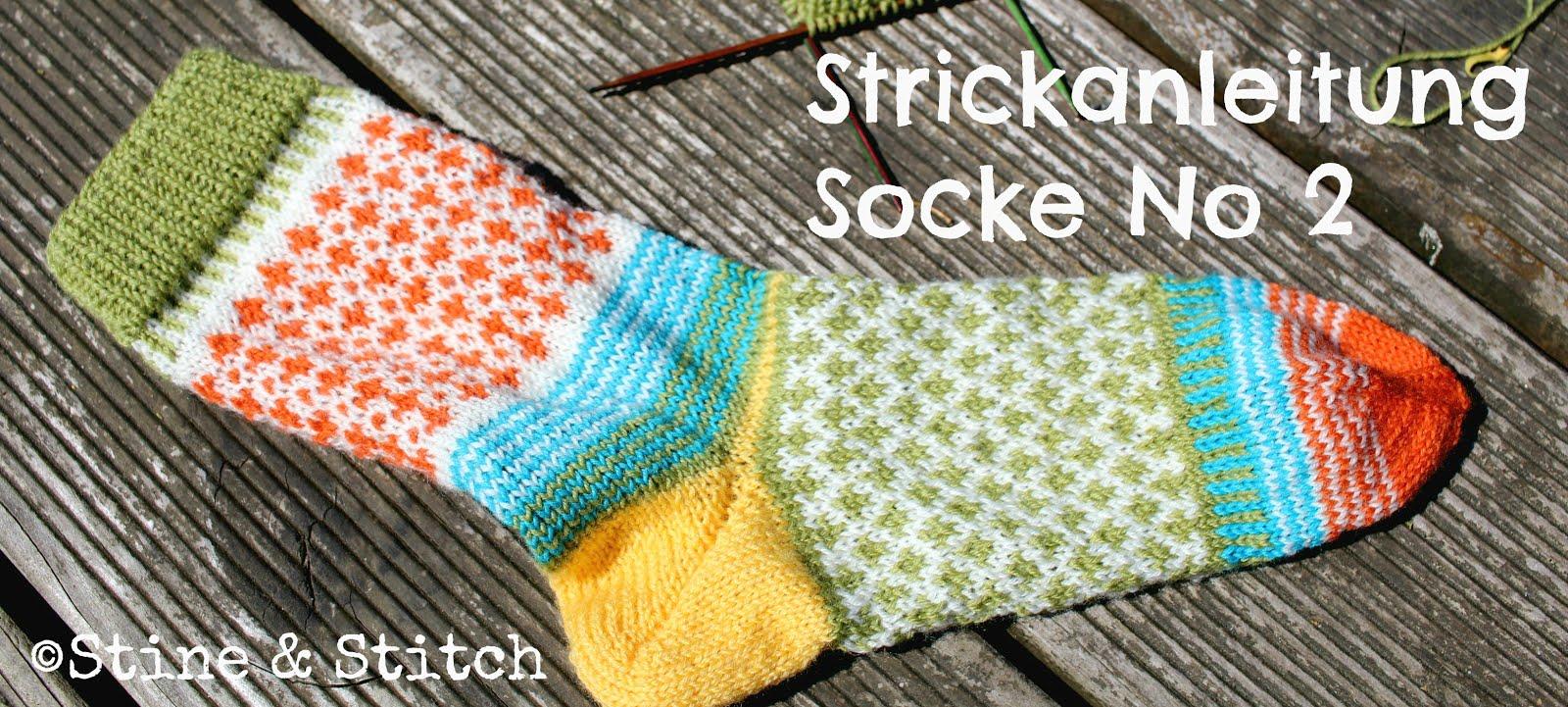Strickanleitung Socke No 2