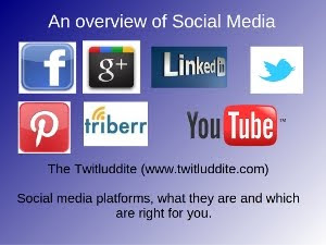 "Free ebook: ""Introduction to Social Media -- which platforms are right for you?"