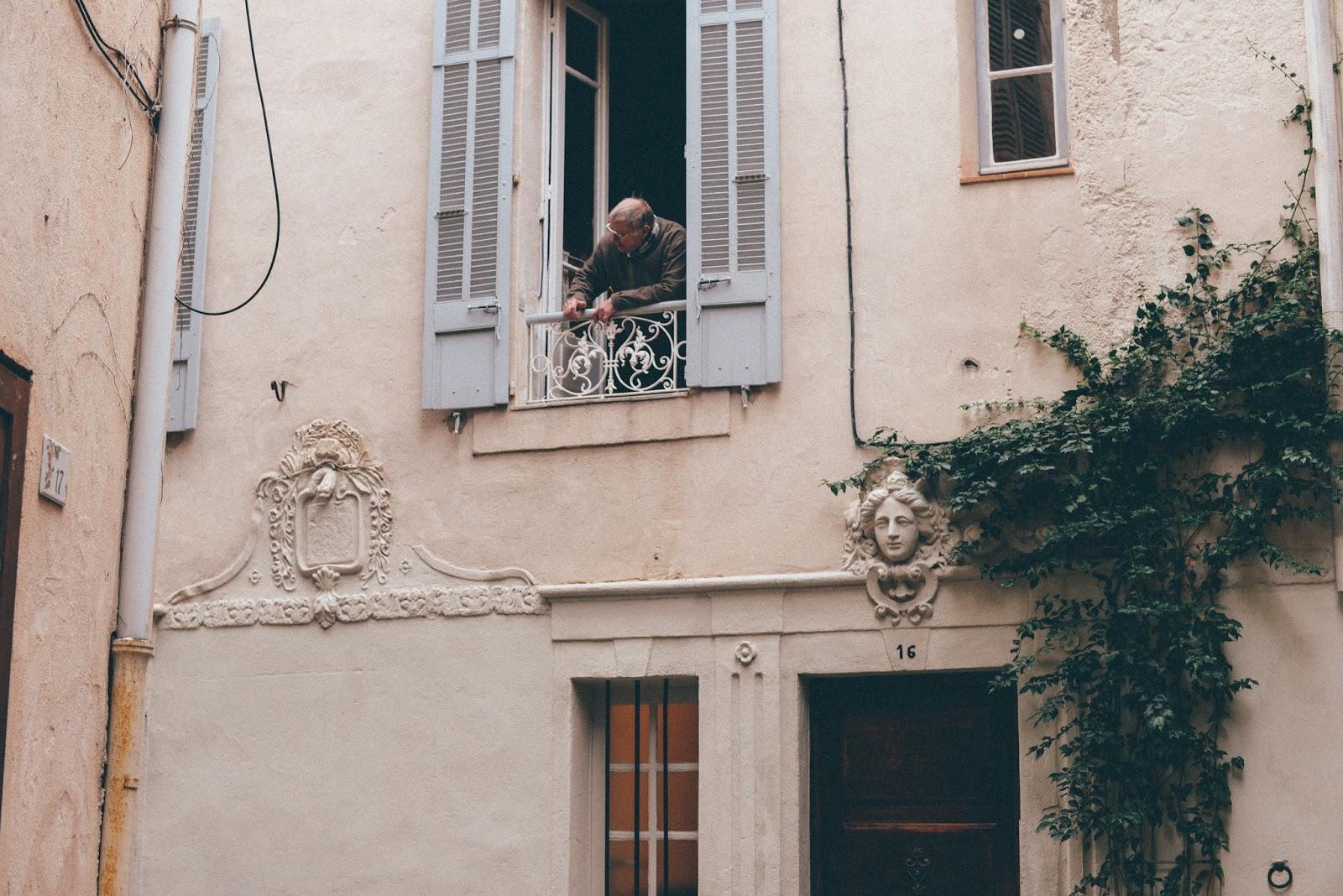 Fenêtre Vieil Antibes
