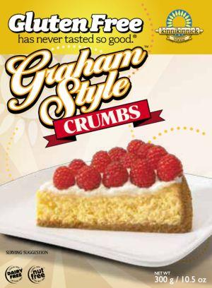 Another Gluten Free Blog: Kinnikinnick Graham Style Cracker Crumbs