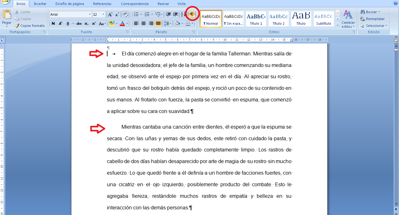 Kindle promociones como dejar el espacio de p rrafos for En word cual es el interlineado