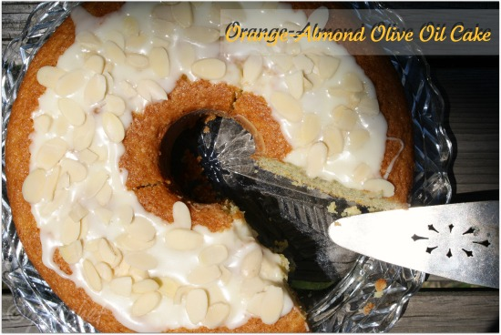 Orange-Almond Olive Oil Cake <i>(using Sunkist Valencia Oranges)</i>