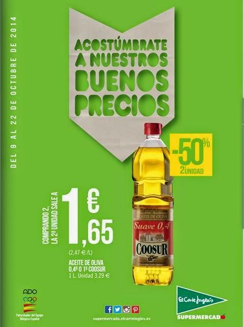 ofertas supermercados ECI del 9 octubre 14