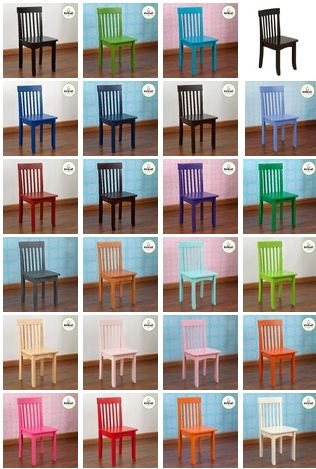 KidKraft Avalon Chairs, Set Of 4
