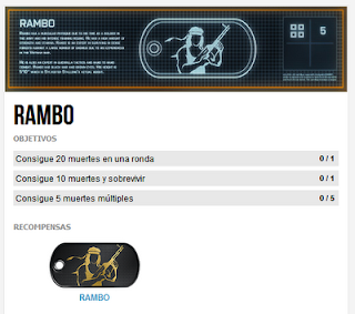Misión Premium 4: Rambo