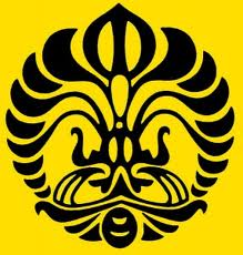 logo universitas indonesia (ui) hitam