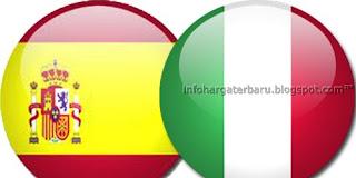 Skor Akhir dan Video Cuplikan Gol Spanyol vs Italia | Euro Cup Minggu 10 Juni 2012