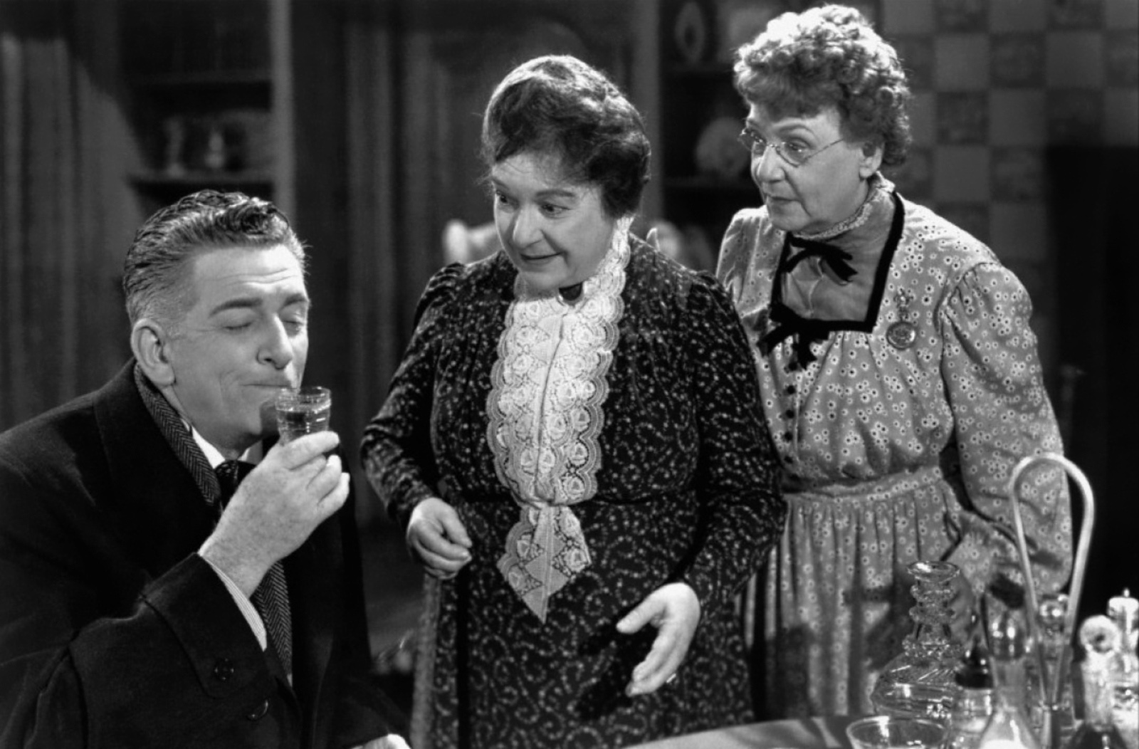 """arsenic and old lace The final production of emporia state university theatre's spring season is  joseph kesselring's 1940 farcical black comedy """"arsenic and old."""
