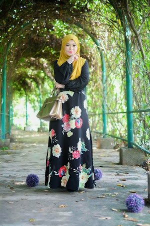 Paling Menawan. Re stock Atas Permintaan Ramai Flower Dress Yang Sangat Anggun
