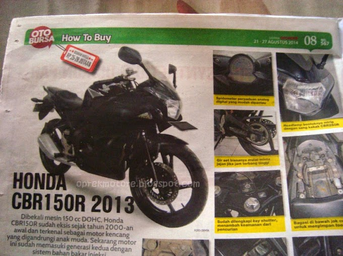 Harga Jual Honda New CBR150R Anjlok