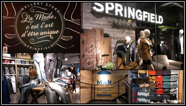 Springfield boutique Hôtel de Ville Paris rue de rivoli fast-fashioon espagnole