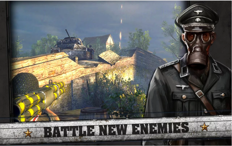 Download FRONTLINE COMMANDO: D-DAY Android Apps APK (Game Perang)