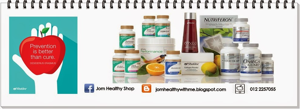 Selamat Datang ke Jom Healthy With Me