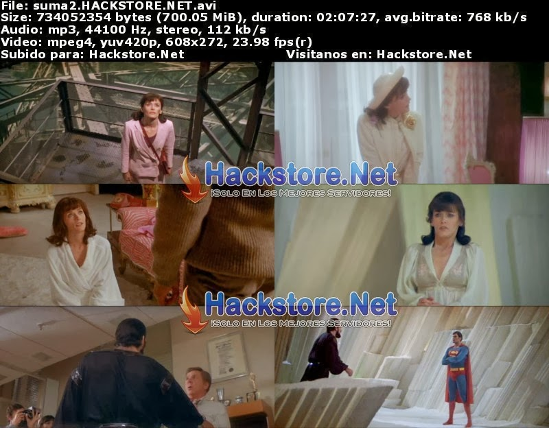 Captura Superman 2 (1980) DVDRip Latino